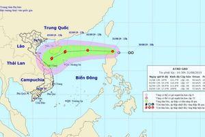 Ngày 2/9, áp thấp nhiệt đới sẽ mạnh lên thành bão hướng vào miền Trung