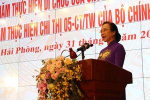 Hải Phòng: Phấn đấu là thành phố gương mẫu của cả nước như Chủ tịch Hồ Chí Minh mong muốn