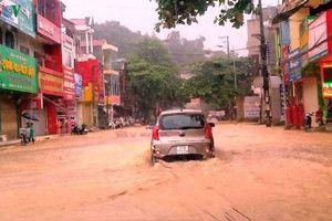Mưa lớn gây ngập úng cục bộ nhiều nơi tại Yên Bái