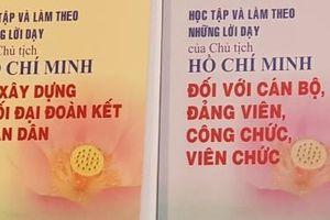 5 tập 'Học tập và làm theo những lời dạy của Chủ tịch Hồ Chí Minh' – Nguồn tư liệu quý