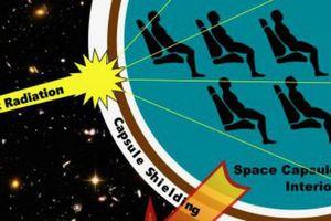 Khiếp đảm phóng xạ không gian dễ làm hỏng não phi hành gia?