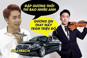 Gọi điện trêu, OSAD choáng váng khi nghe Hoàng Rob báo giá gương xe Maybach