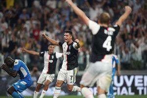 Ronaldo lập công, Juve thắng siêu kịch tính trước Napoli