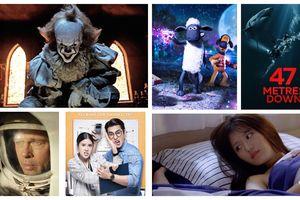 Phim rạp tháng 9/2019: Gã hề ma quái 2, Shaun the Sheep và Hung thần đại dương: Thảm sát