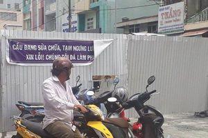 Cho phép xe gắn máy lưu thông qua cầu Cà Mau trước ngày 5/9