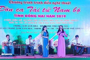 Trình diễn đờn ca tài tử Nam bộ tại TP.Long Khánh