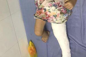 Giáo viên tố hiệu trưởng gian dối trong vụ cháu bé bị gãy xương đùi