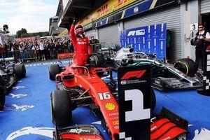 Leclerc giành chiến thắng đầu tiên trong sự nghiệp