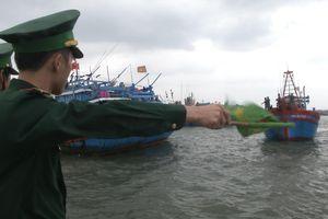 BĐBP Quảng Ngãi: Khẩn cấp triển khai phòng chống áp thấp nhiệt đới