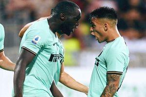 Lukaku lập công cho Inter trong 'cơn bão' phân biệt chủng tộc ở Serie A
