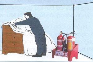 Công an khuyến cáo cách phòng cháy, chữa cháy trong quá trình sửa nhà