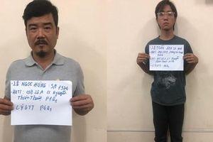 Tạm giữ hai cha con liên quan vụ chém lìa tay người bán nước sâm