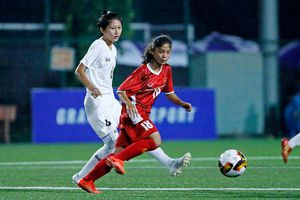 Nữ Việt Nam ra quân thua đậm Myanmar ở giải U15 quốc tế 2019