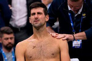 Djokovic ngậm ngùi nhìn Wawrinka vào tứ kết US Open