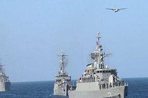 Iran triển khai khí tài quân sự tham gia tập trận ở biển Caspia