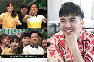Xuất hiện vài giây sau lưng Trường Giang - Hari Won, trai đẹp bất ngờ được truy lùng danh tính