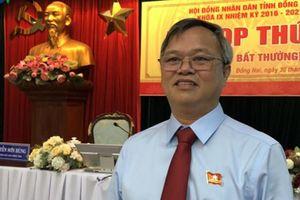 Ông Cao Tiến Dũng làm Phó Bí thư Tỉnh ủy Đồng Nai
