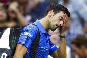 Djokovic bỏ cuộc vì chấn thương vai tại US Open 2019