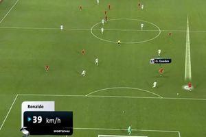 Ronaldo gây ngạc nhiên với tốc độ ở tuổi 34