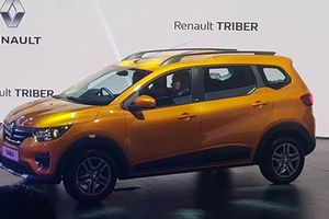 Renault Triber mới rẻ giật mình, chỉ 160 triệu tại Ấn Độ