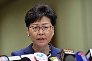 Trưởng đặc khu Hong Kong sẵn sàng từ chức nếu có thể