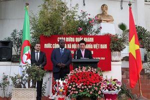 Trang trọng lễ kỷ niệm 74 năm Quốc khánh 2/9 tại Algeria