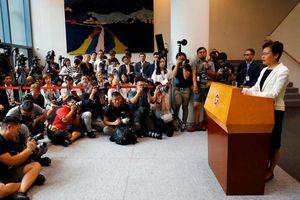 Lãnh đạo Hồng Kông: Từ chức có vẻ là lựa chọn dễ dàng trong tình hình khó khăn