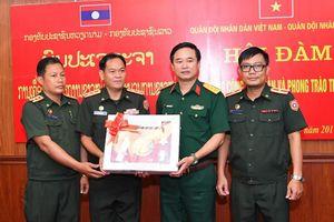 Sĩ quan trẻ Lào tới Việt Nam hội đàm và tập huấn công tác Đoàn