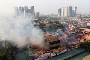Vụ cháy tại Công ty Rạng Đông: Tổng cục Môi trường khuyến cáo người dân về an toàn sức khỏe