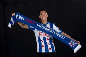 Đoàn Văn Hậu gây ấn tượng trong video 'chào sân' ở SC Heerenveen