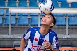 Clip: Đoàn Văn Hậu gây ấn tượng với màn 'chào sân' CLB Heerenveen