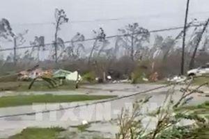 Bang thứ 5 của Mỹ tuyên bố tình trạng khẩn cấp do siêu bão Dorian