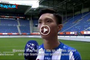 Video Đoàn Văn Hậu ra mắt tại CLB SC Heerenveen thu hút gần 1tr lượt xem