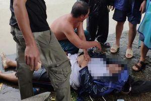 1 công an viên bị nước lũ cuốn tử vong