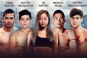 4 võ sĩ họ Nguyễn trên sàn đấu ONE Championship Việt Nam