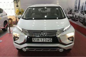 Mitsubishi Xpander biển 123.45 'thét giá' 1,7 tỷ ở SG