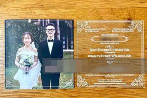 Con gái Minh nhựa 'tung' thiệp cưới độc và quy định khắt khe với khách mời