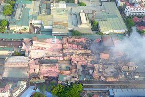 Thứ trưởng Bộ TN-MT: 'Kiến nghị tẩy độc khu vực bị cháy của Công ty Rạng Đông'