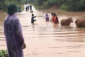 Nhiều nơi đã mưa tương đương trận lụt lịch sử ở Hà Nội 2008