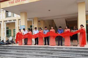 BSR tổ chức khánh thành Trường Mần non Nam Hà (Thái Bình)