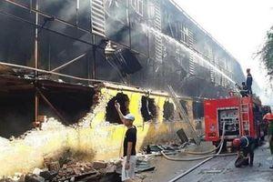 Vụ cháy nổ Công ty Rạng Đông: Khoảng 15,1 đến 27,2kg thủy ngân đã phát tán ra môi trường