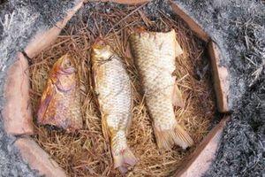 Cá nướng úp chậu - món ngon đặc sản Nam Định