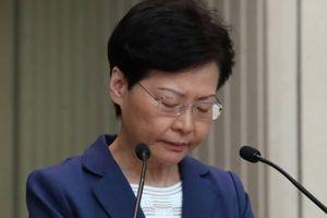Lãnh đạo Hồng Kông quyết định rút bỏ dự luật dẫn độ