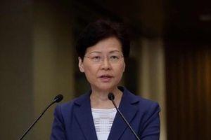 Trưởng Đặc khu Hành chính Hong Kong chính thức rút lại dự luật dẫn độ