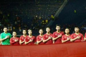Đội tuyển Việt Nam mặc áo đỏ truyền thống trong trận gặp Thái Lan