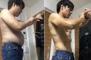 Thầy giáo trẻ gây sốt với body 6 múi nhưng điều ngưỡng mộ nhất là quá trình giảm 13 kg sau 5 tháng chỉ nhờ làm một việc rất đơn giản mỗi ngày