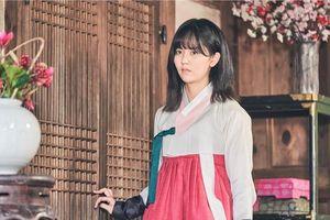 Sửng sốt trước tạo hình kỹ nữ của Kim So Hyun trong phim hài lãng mạn 'Sử ký Nok Do'