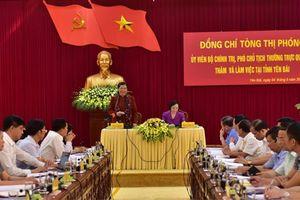 Phó Chủ tịch Thường trực Quốc hội Tòng Thị phóng thăm và làm việc tại Yên Bái