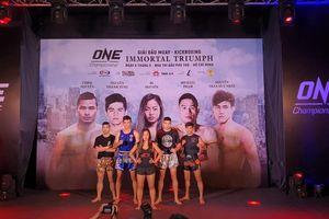 ONE Championship ra mắt dàn võ sĩ Việt và gốc Việt