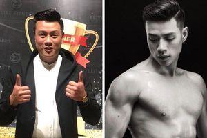 Hành trình giảm 25 kg của thí sinh Mister Việt Nam